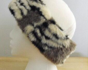 Fleece and Faux Fur Hat