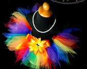 Adult Women's Primary Rainbow Tutu...Fun Run Tutus...Rainbow Clown Tutu...Rainbow Racing Tutu...Rainbow Fairy Tutu . . . RAINBOW PIXIE