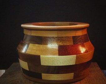 Crazy quilt bowl