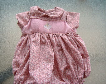 Infant  Smocked Bubbles 1