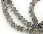 MOVING SALE Labradorite Beads - 5mm Rondelle - Full Strand