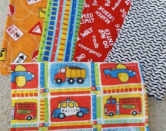 Lunch box cloth napkins- the rescue set