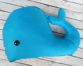 Whale Plush Toy Novelty Pillow
