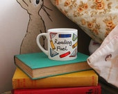 Small Reading Fuel Mug great for adults and little ones