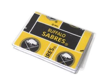 Card Case Mini Wallet Buffalo Sabres