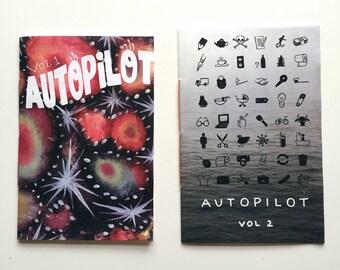 Autopilot zine volumes 1 & 2