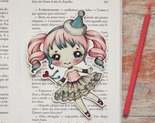 Petite - Romantic Carnival - bookmark - made to order