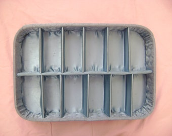 Beautiful Blue Glove Box - Vintage