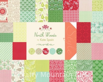 North Woods Charm Pack by Kate Spain for Moda