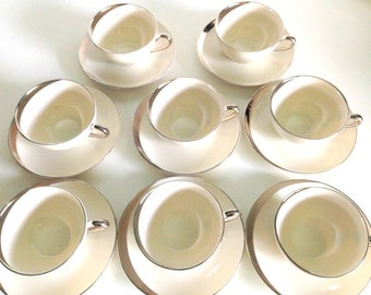 Mid-Century Pickard Crescent 1123 China - 16 piece set