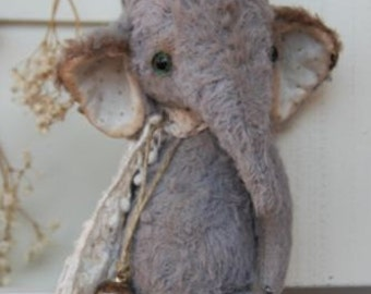 Sewing Kit For 6 inch Vintage Style Elephant