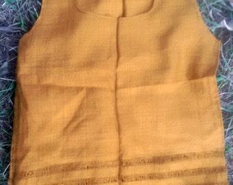SALE ~ Raw Silk Top~ Xs size ~