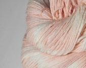 Dirty young flamingo OOAK - Merino Sport Yarn Machine Washable