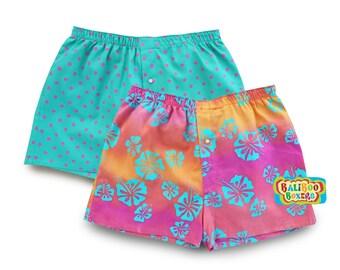 Girls Pajama Short Set, Floral Girls Shorts Set, Pink Floral Beach Shorts, Girls Pink PJs, Birthday Gift
