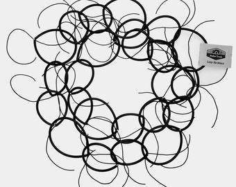 Urban Rubber Loop Necklace