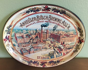 1974 Anheuser Busch Beer Tray