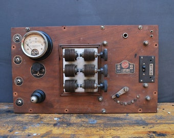1920 Electrical Therapy Control Panel
