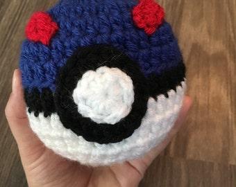 Crochet Pokemon Great Ball