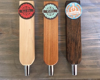The Brewmaster - Tap Handle