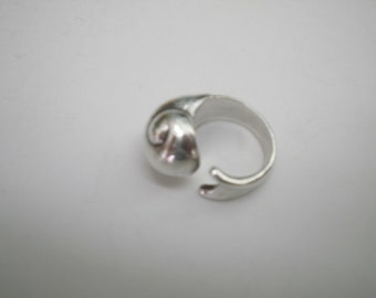 Tiffany Elsa Peretti Rare 925 Sterling Silver Ring Vintage Ring Snail Ring Woman Ring size 6 Ring