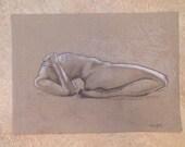 "Original sketch/drawing, ""Headless 2"""