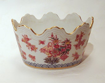 Vintage Vista Alegre Portugal Crown Shaped Dish
