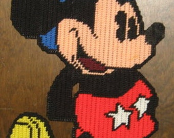 Mickey mouse 1 Plastic Canvas Pattern