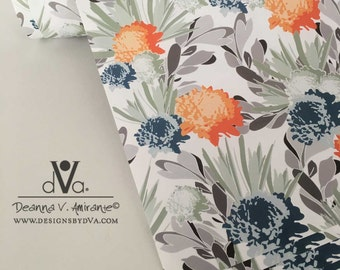 Davina Floral Gift Wrap Wrapping Paper