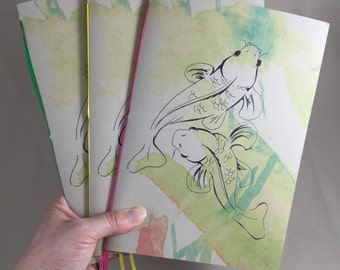 Koi Fish Sketchbook