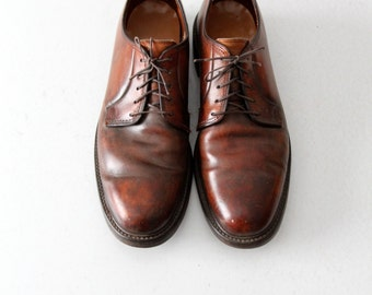 vintage Lloyd & Haig oxfords, men's leather shoes