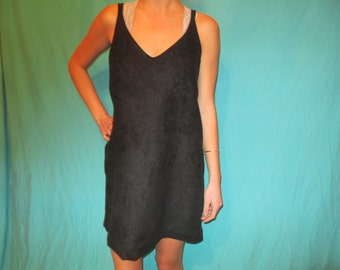Suede Dress, Black Game Day Dress Tailgate in Style