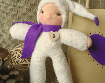 A Waldorf Inspired Just Because Gnome Toy Gift- Purple