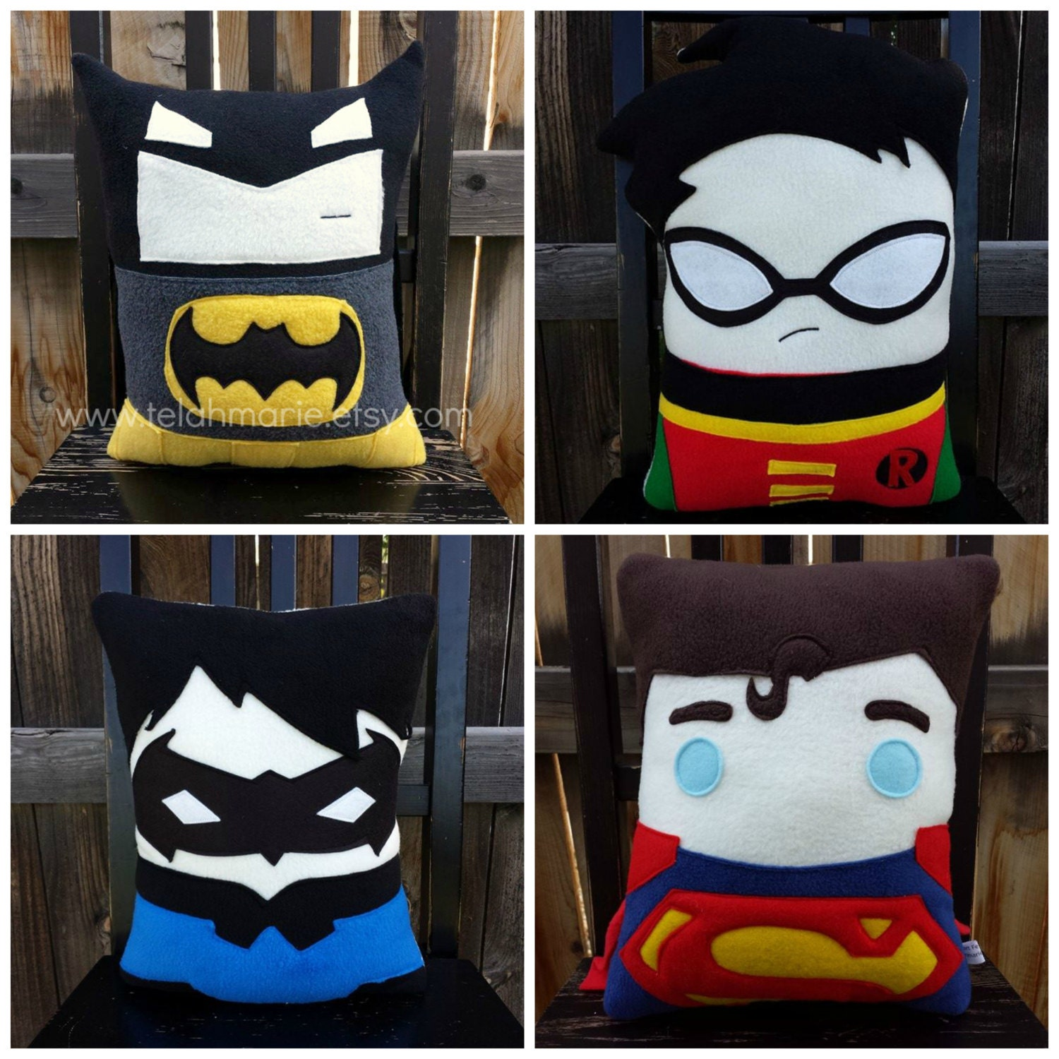 superhero pillow cushion boy room decor nursery superhero