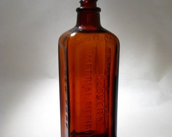 Clover's Imperial Medicine Bottle