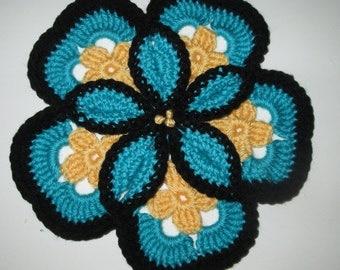 Flower Trivet/Potholder