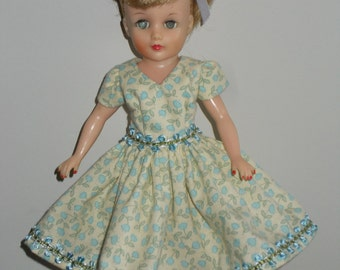 """OOAK doll clothes for 10 1/2""""  Little Miss Revlon type doll - """"Sweetly Trimmed"""""""