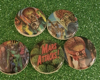 Mars Attacks Pin Set Vol. 1
