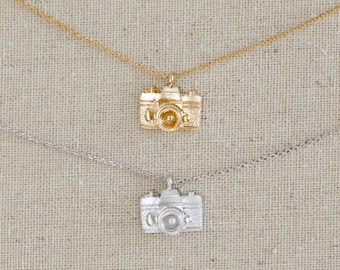 Vintage Styled Camera Necklace | Photography | Snap | Memories | Photographer | Pictures | Gift for Photographer | Mothers Day Gift