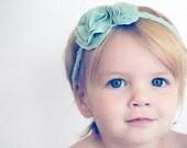 21 Colors || Baby Girl Headband - Newborn Head Wrap - Flower Bow - Headband - Coming Home Headband - Pink Baby Headband
