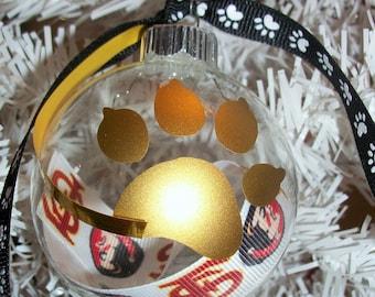 FSU pet ornament -- FREE SHIPPING