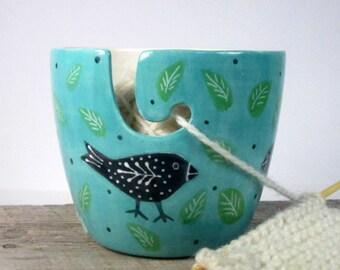 Yarn Bowl Knitting bowl Knitter gift Ready to ship