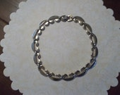 Vintage 1970s Chain Link Style Necklace Choker by Sperry