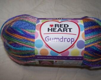 Red Heart Gumdrop Yarn - Red Heart Juicy Yarn - Juicy Yarn - Gumdrop Yarn - Red Heart Yarn - Red Heart Gumdrop Juicy Yarn