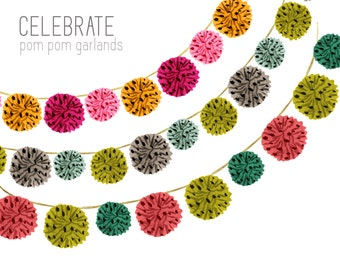 Garland clipart – Etsy