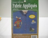 Fabric Iron-On Appliques Cabin Fever Kit Fish Story New In Package