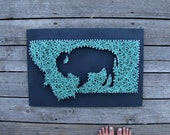 Montana Buffalo String and Nail Art  - Bozeman | Missoula | Billings | Helena | Yellowstone