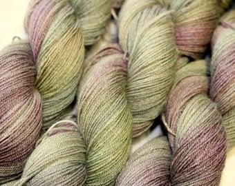 Fine wool lace weight yarn