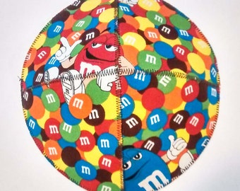 Packed M&M Saucer Kippah Yarmulke Candy