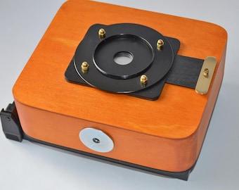 Vermeer Polaroid- instant wooden pinhole camera