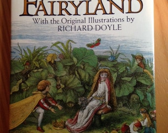 """Vintage Book """"In Fairyland"""" Text by Adrew Lang"""